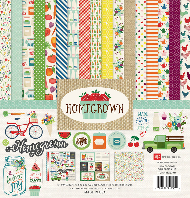 HOMEGROWN COLLECTION KIT by ECHO PARK