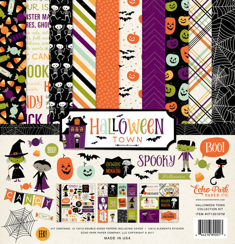 HALLOWEEN TOWN COLLECTION KIT by ECHO PARK