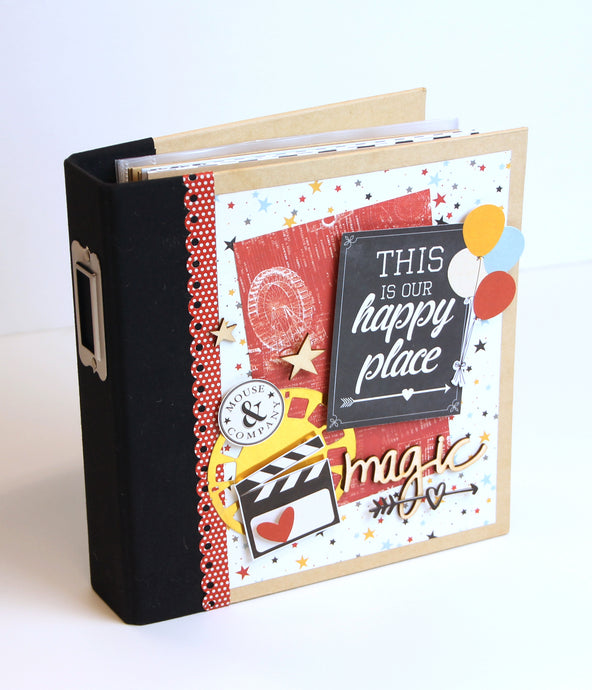 Say Cheese for Disney!  Happy Place By Sue Kendall ~TUTORIAL