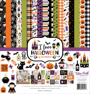 I Love Halloween Collection Kit