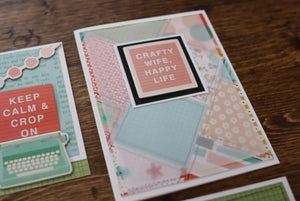 Crafty Girl Card Kit
