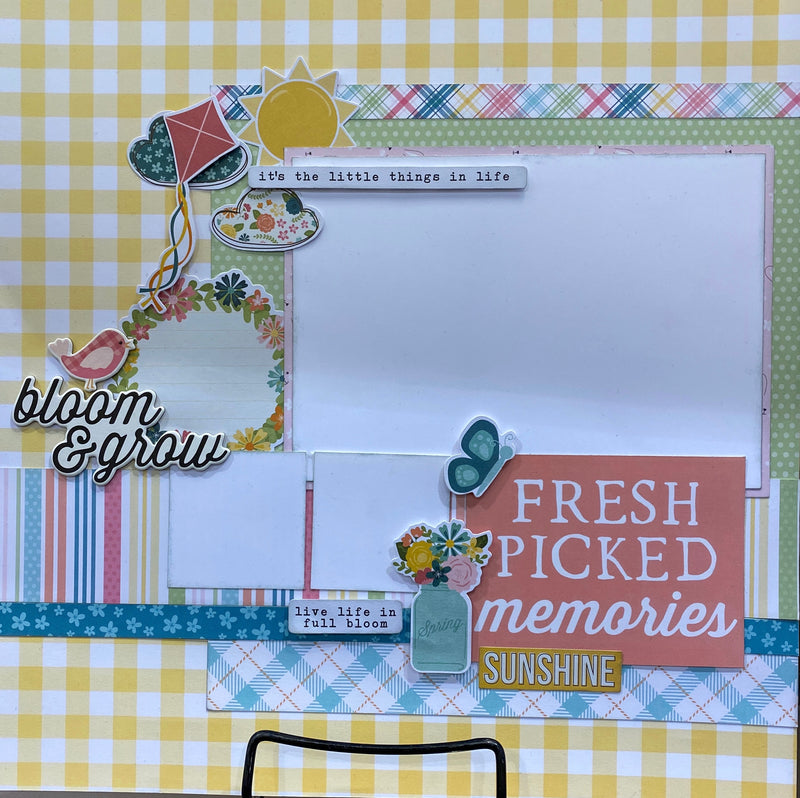 Hip Hop Hooray Page Layout Kit ~ by Simple Stories