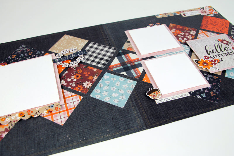 Forever Fall Page Kit by Simple Stories