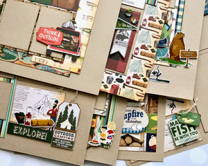 """Great Outdoors"" Page Kit by Mary-Ann Maldonado"