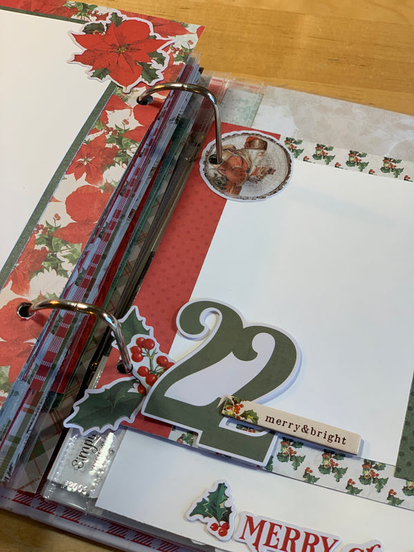 December Daily By Sue Kendall ( Country Christmas Collection )