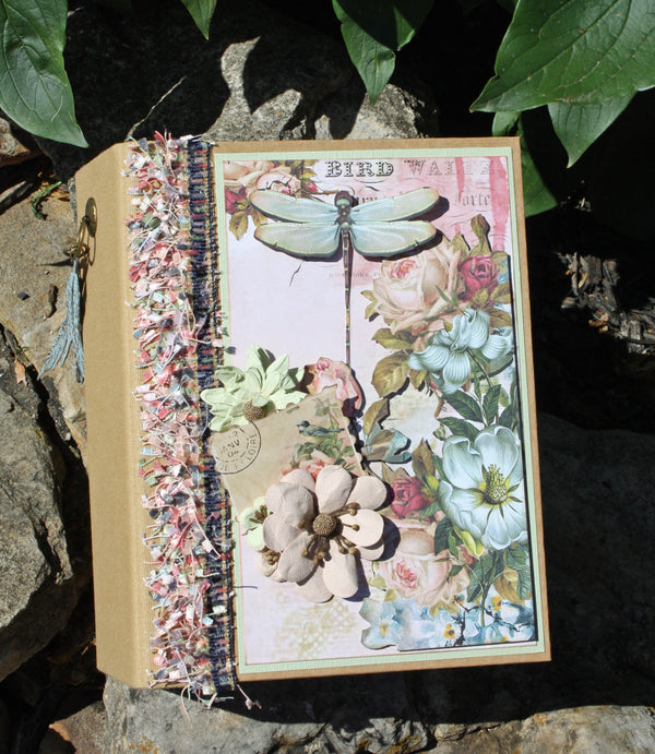 Bird Waltz Mini Album by Nancy Wethington ~Tutorial