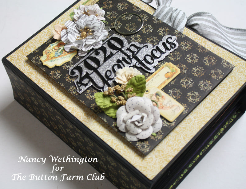 A Year in Focus ~ By Nancy Wethington ~ Tutorial Only