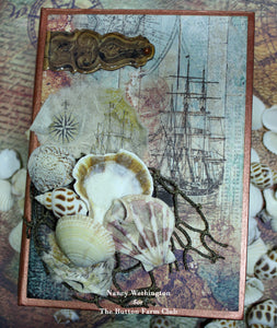 By The Sea Book In A Box ~ by Nancy Wethington TUTORIAL ONLY