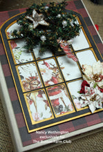 Christmas in the Country Mini Book by Nancy Wethington~ Tutorial