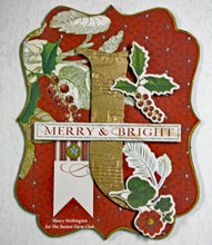 Joy of Christmas Banner by Nancy Wethington