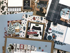 """Let it Snow"" Page Kit by Mary-Ann Maldonado"
