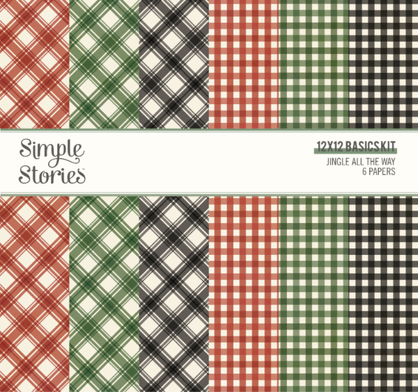 Jingle All the Way Simple Basics Kit by Simple Stories