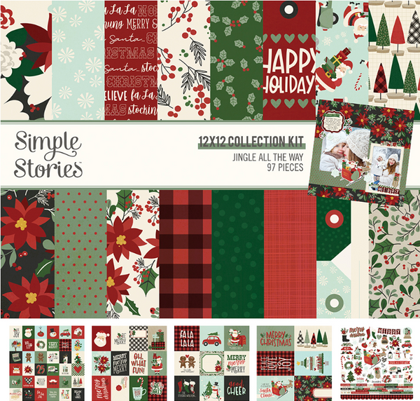 Jingle All the Way Collection Kit by Simple Stories