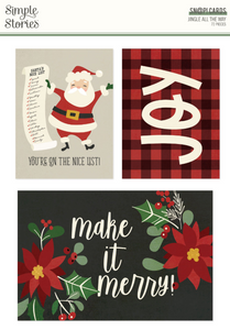 Jingle All the Way SN@P! Cards by Simple Stories **SHIPPING JULY**