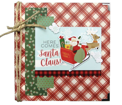 Trimcraft 1ST EDITION Jingle All the Way Sample Pack 16 x 8 x 8 Papiers Feuilles