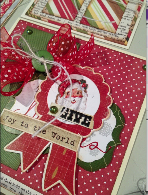 Joy to the World Card & Tag Set