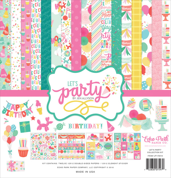 LET'S PARTY COLLECTION KIT by ECHO PARK