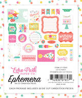 LET'S PARTY EPHEMERA by ECHO PARK