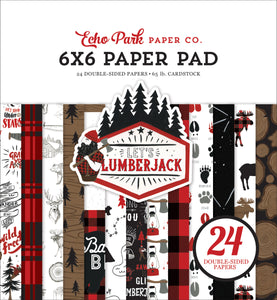 Let's Lumberjack 6x6 Paper Pad **SHIPPING OCTOBER**