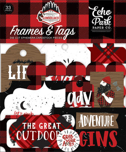 Let's Lumberjack Frames & Tags **SHIPPING OCTOBER**