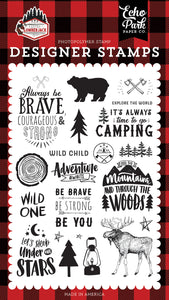 Let's Lumberjack Under the Stars Stamp Set **SHIPPING OCTOBER**