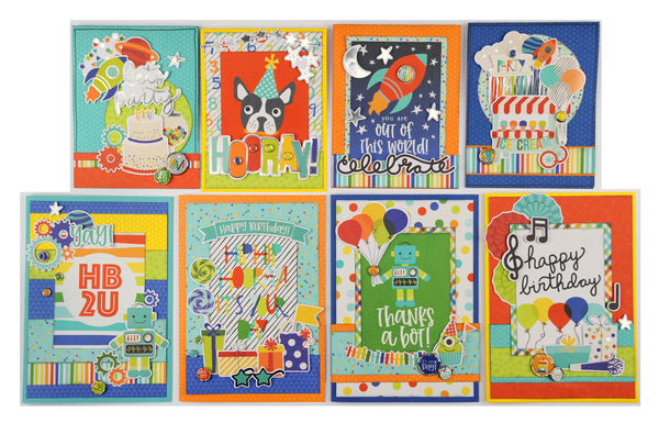 Birthday Card Kits by Simple Stories