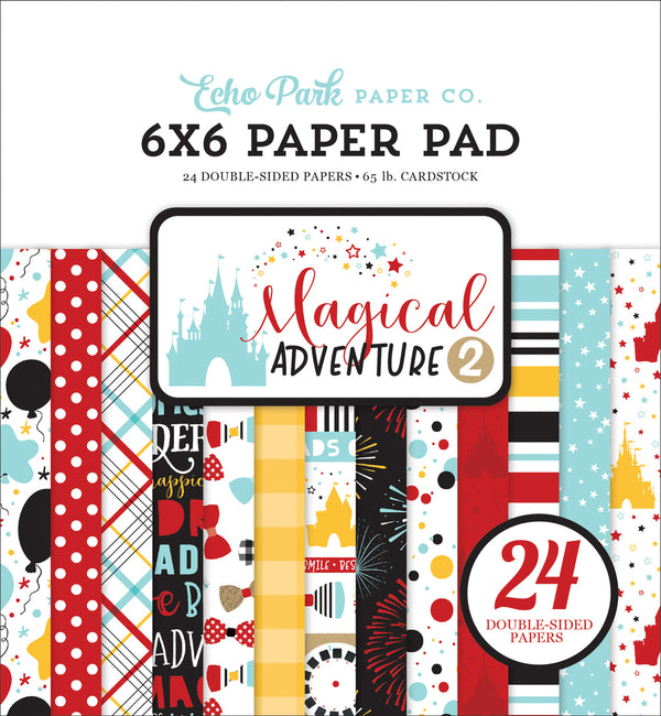 MAGICAL ADVENTURE 2 6X6 PAPER PAD by ECHO PARK