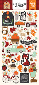 MY FAVORITE FALL 6X13 CHIPBOARD ACCENTS by ECHO PARK