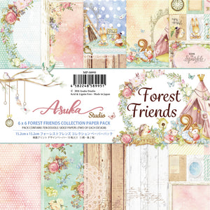 6x6 Forest Friends Paper Pads
