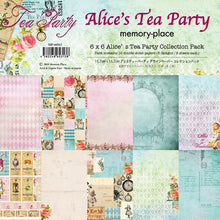6x6 Alice's Tea Party Collection Pack