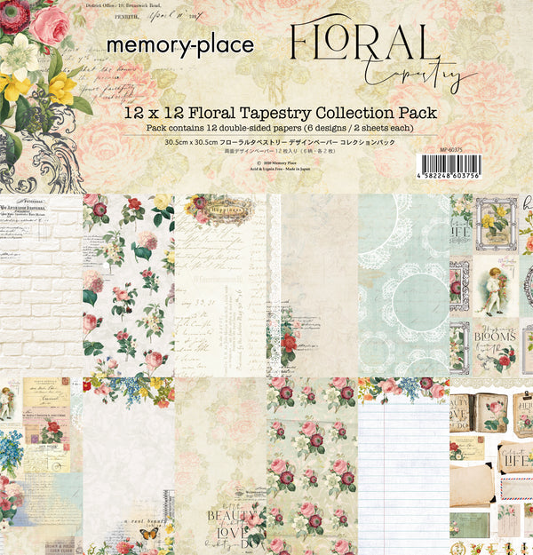 Floral Tapestry 12x12 Collection Pack