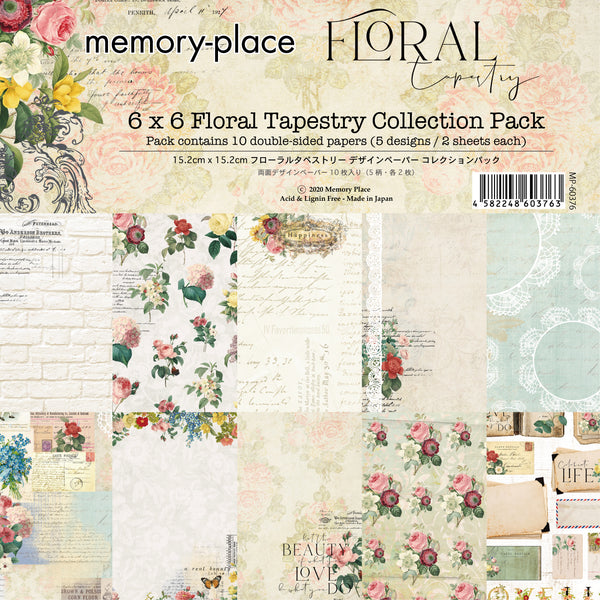 Floral Tapestry 6x6 Collection Pack