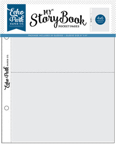 My Story Book Pocket Pages 4x6 Pocket by Echo Park