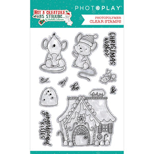 Not A Creature Was Stirring Polymer Stamps 4x6 by Photoplay Paper **SHIPPING JULY**