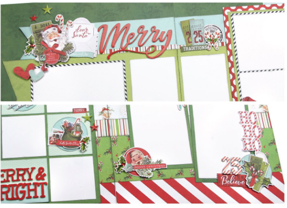 Simple Vintage North Pole Page Kit by Simple Stories
