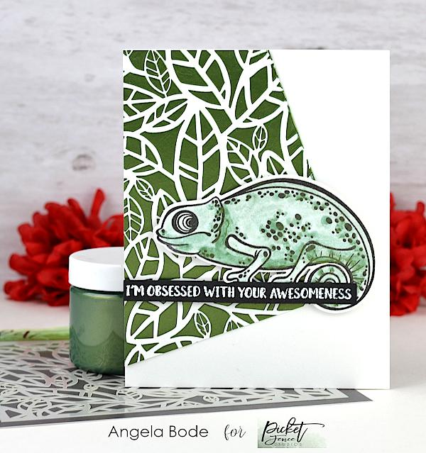 Picket Fence Studios Paper Glaze - Fern Green