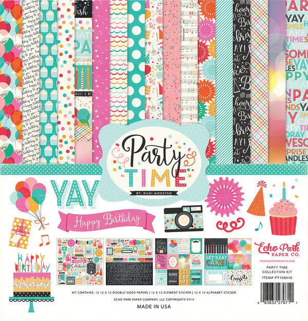 PARTY TIME COLLECTION KIT by ECHO PARK
