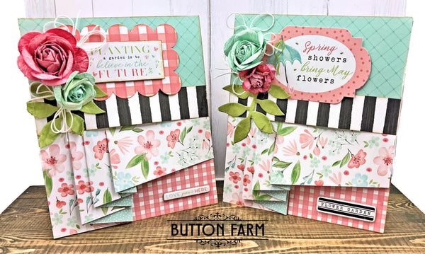 Carta Bella Flower Garden Card Kit by Kathy Clements