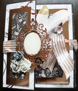 Wedding Folio featuring Prima by Nancy Wethington  ~ tutorial only