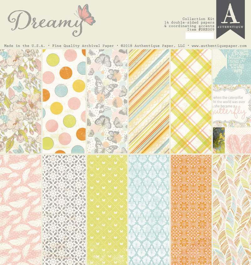 Dreamy Collection Kit by Authentique Paper