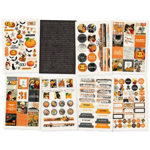 Simple Vintage Halloween Collection - Cardstock Stickers
