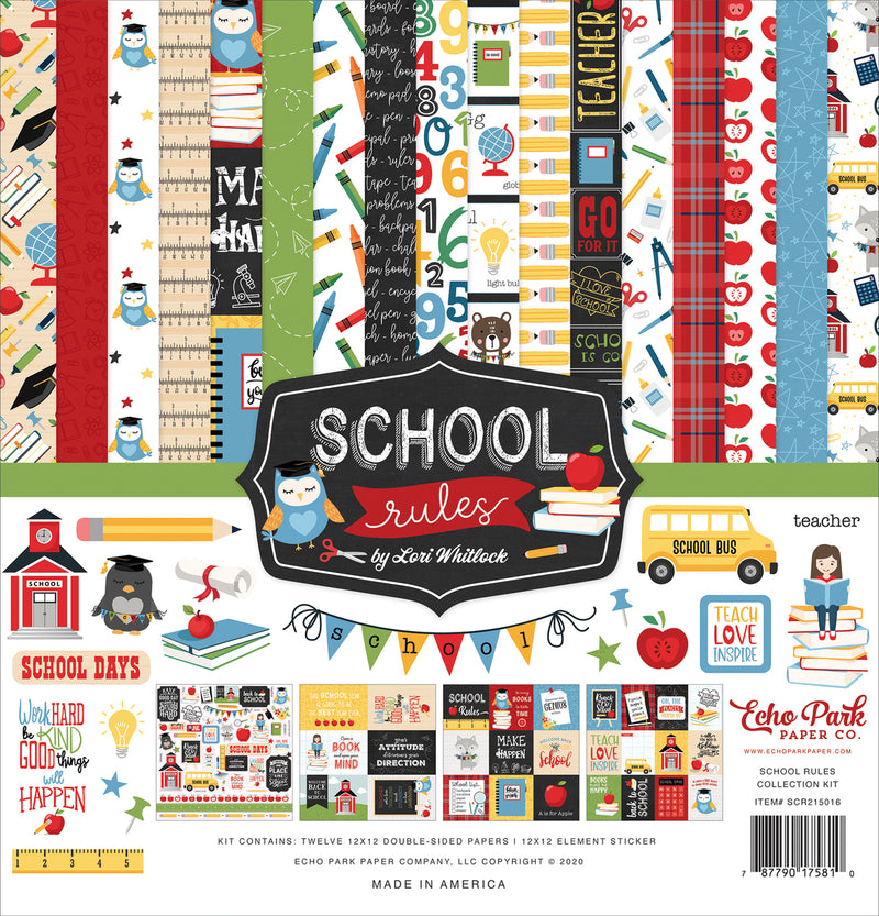 SCHOOL RULES COLLECTION KIT by ECHO PARK
