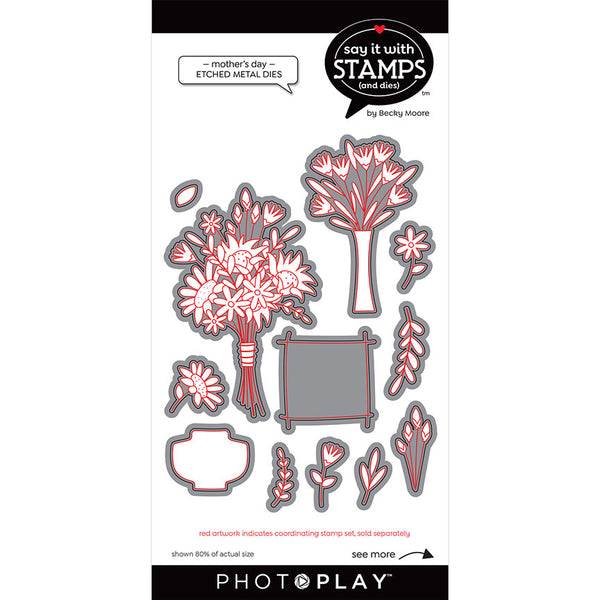 Say It With Stamps Collection - Dies - Mother's Day