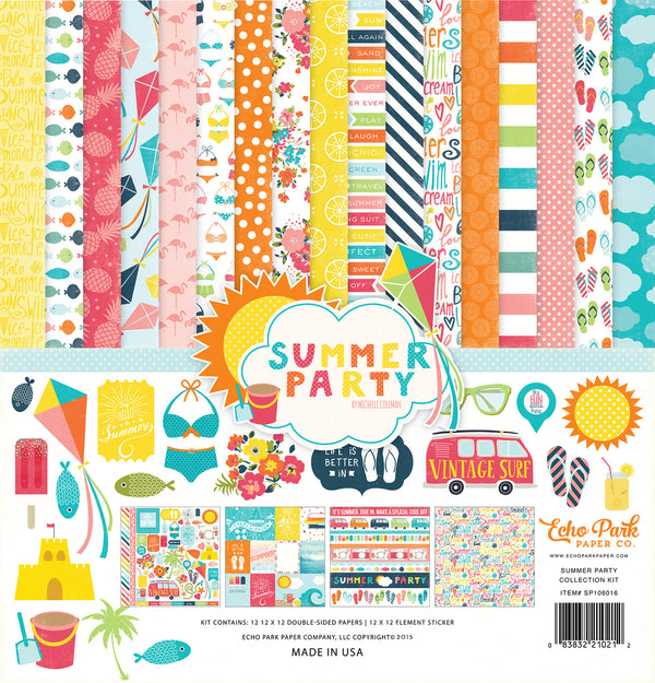 SUMMER PARTY COLLECTION KIT by ECHO PARK