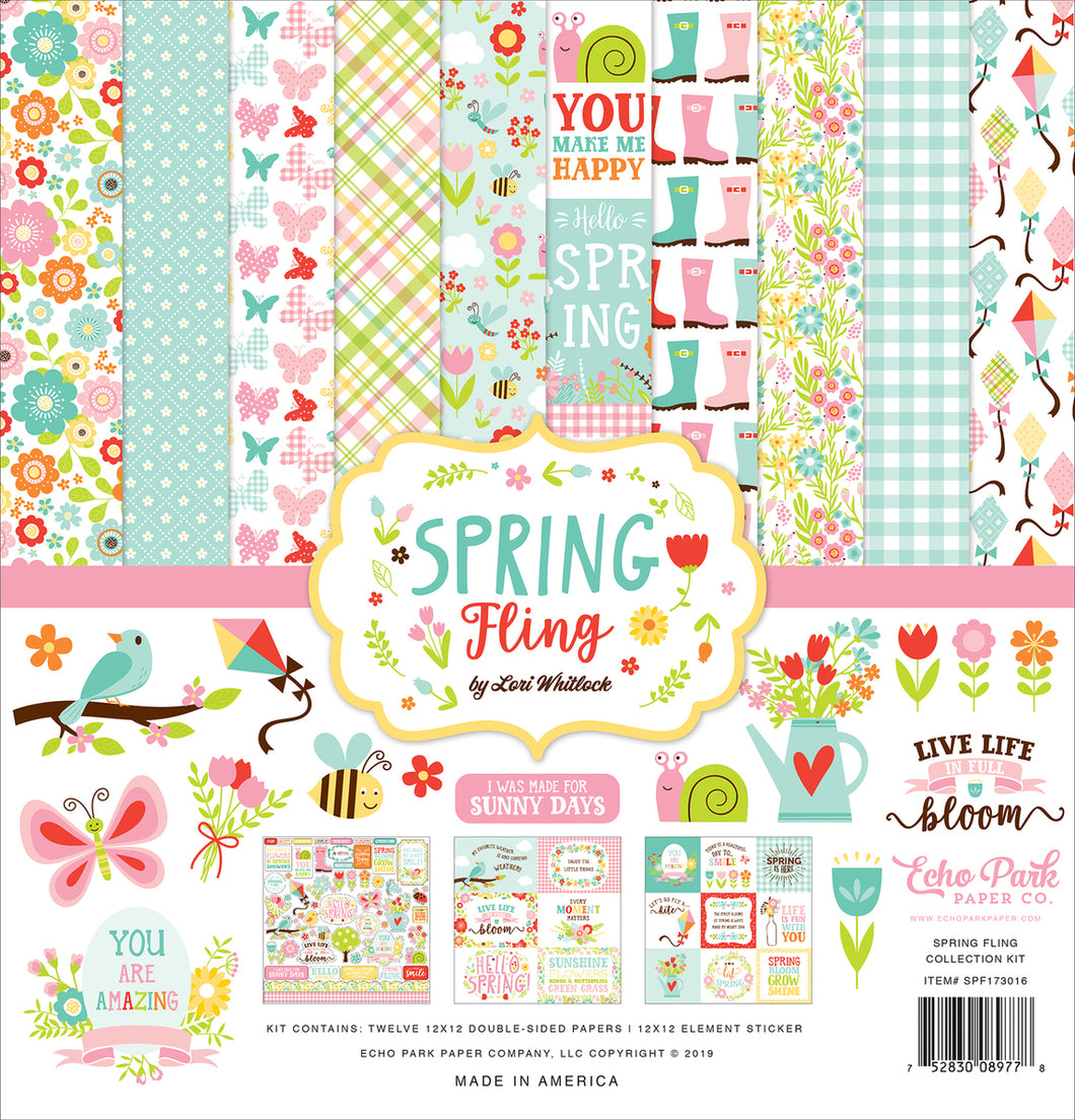 SPRING FLING COLLECTION KIT by ECHO PARK
