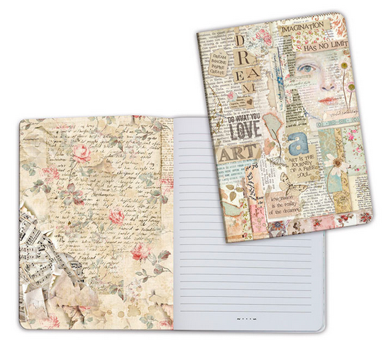 Notebook A5 Love Art by Stamperia