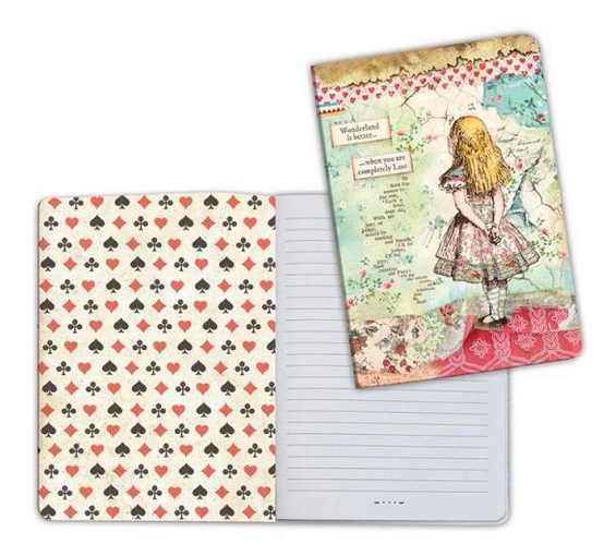 Notebook A5 Alice by Stamperia