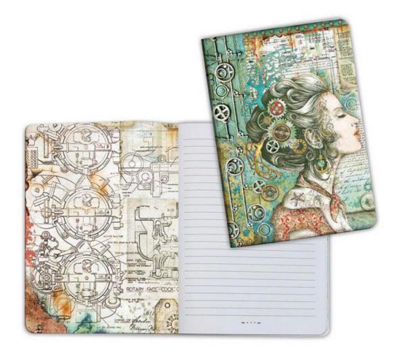 Notebook A5 Sea World Lady by Stamperia