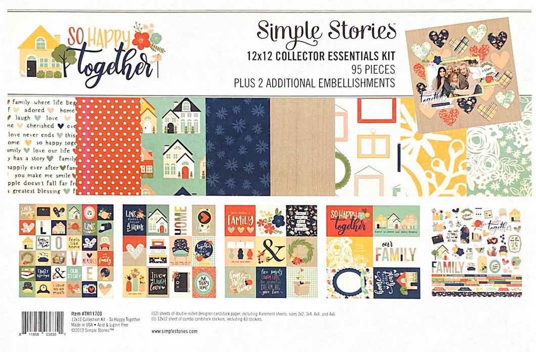 HAPPY TOGETHER PAPER KIT by SIMPLE STORIES