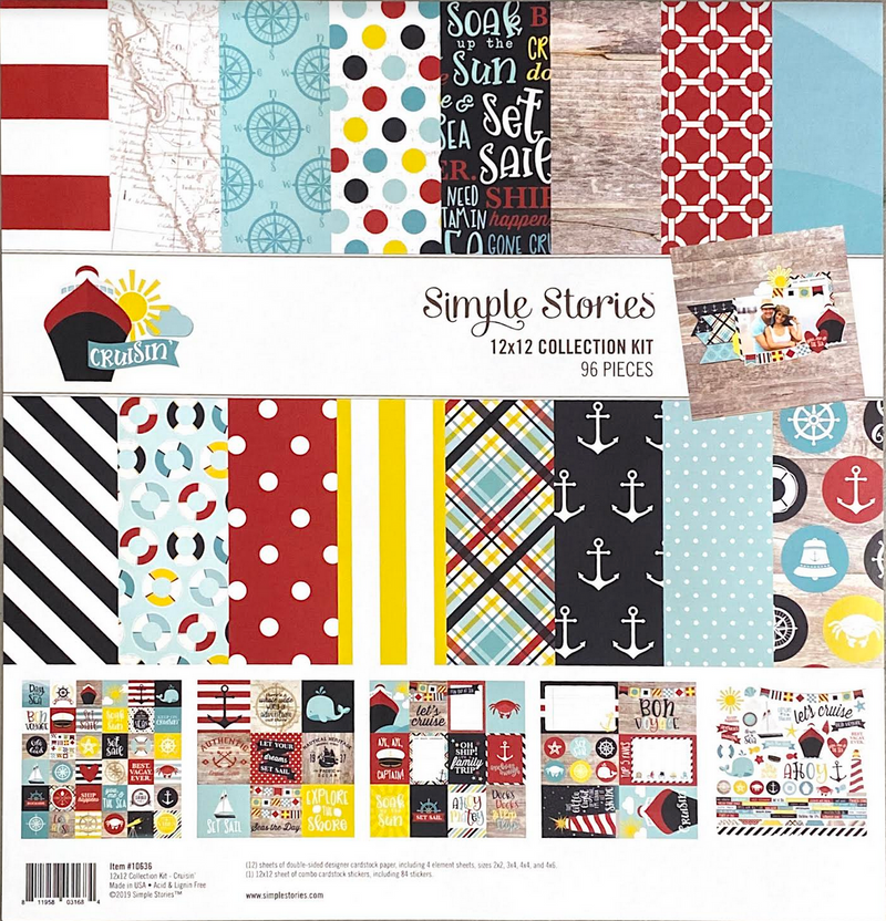 CRUISIN' COLLECTION KIT by SIMPLE STORIES